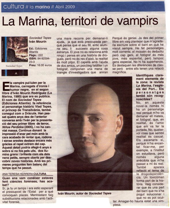 """Entrevista en """"La Marina"""""""