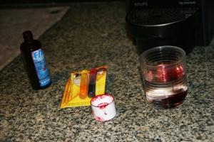 Preparando la sangre
