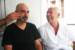Dos grandes actores: Carlos Lasarte y Ferran Terraza