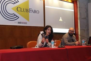 María Oruña, presentadora de lujo, amenizó la misma de un modo magistral (Fotógafía de Alba Villar).