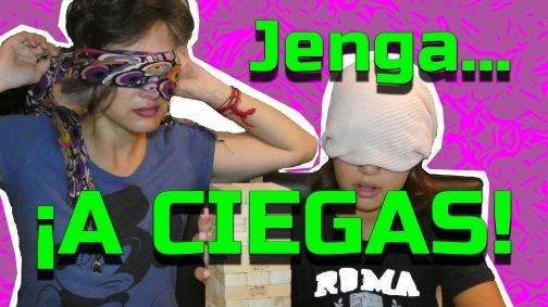 JENGA... ¡A CIEGAS!